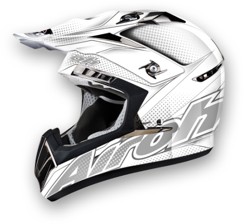 Airoh CR900 Linear off-road helmet white