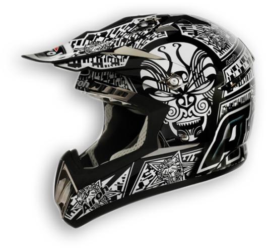 Airoh CR900 Maori off-road helmet black gloss