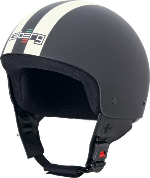 Caberg Cruiser Legend demi-jet helmet matt black-cream
