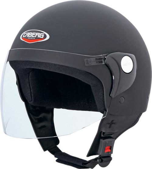 Caberg Cruiser Visor demi-jet helmet matt black