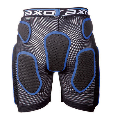 Protective Shorts AXO Rock Pant Black White