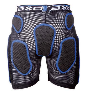 Protective Shorts AXO Soft Rock Pant Black White