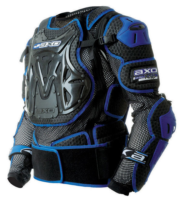 Full bib baby AXO 2.0 Massive All Road JR Black Blue