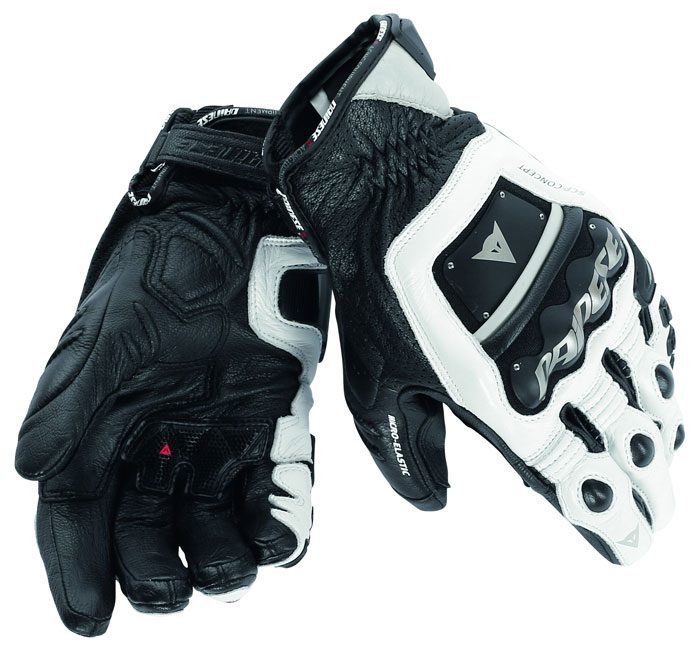 Dainese 4 Stroke Evo gloves white white black