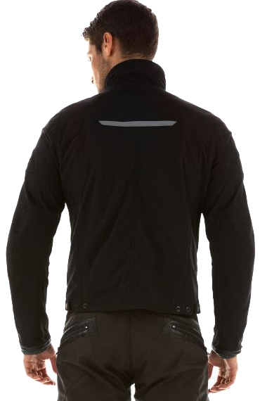 DAINESE Romero Tex jacket col. black/black