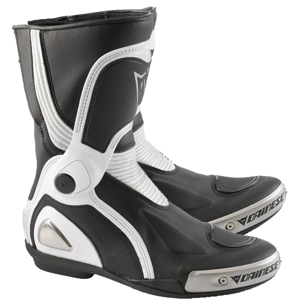 Dainese St. Torque Out motorcycle boots col. black-silver-white