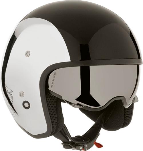 Casco moto Diesel Hi-Jack Multi argento cromato-nero