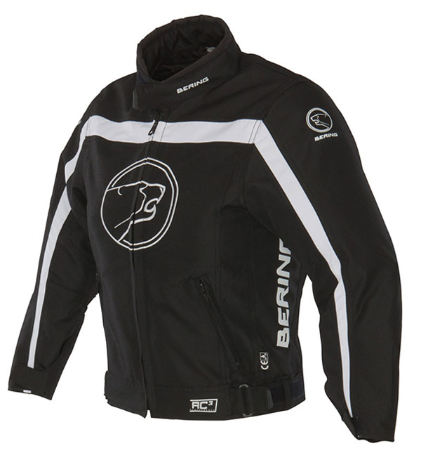 Approved Bering waterproof motorcycle jacket child Dink Black