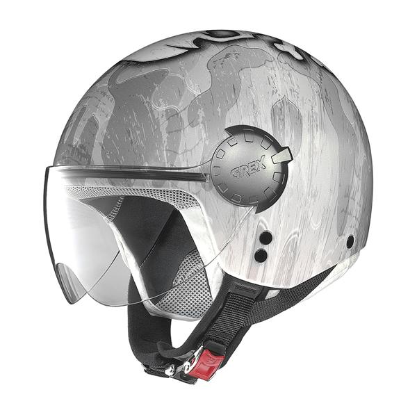 Grex DJ1 City Helmetart jet helmet Grey Camouflage