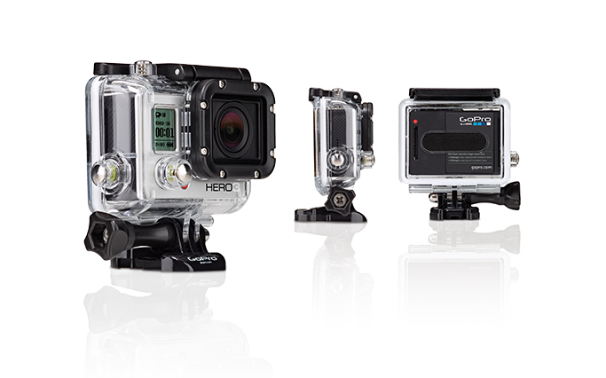 GoPro HD camera Hero3 Silver Edition