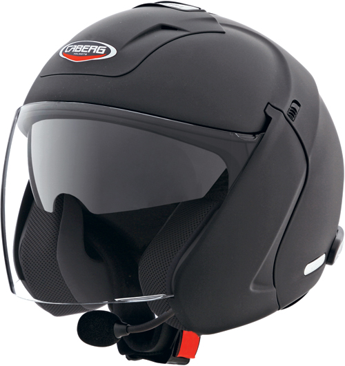 Casco moto Caberg  Downtown S nero opaco
