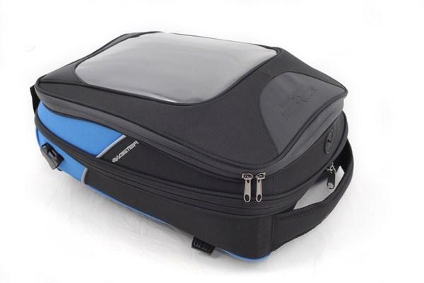 Borsa moto serbatoio Bagster Driver nero-blu