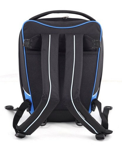 Bagster driver tank bag black-blue