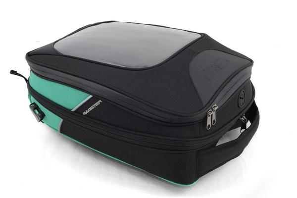 Bagster driver tank bag black-green