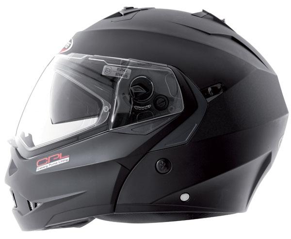 Caberg DUKE CPL flip off helmet Matt Black