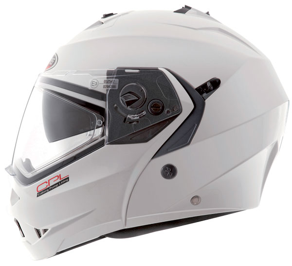Caberg DUKE CPL flip off helmet White