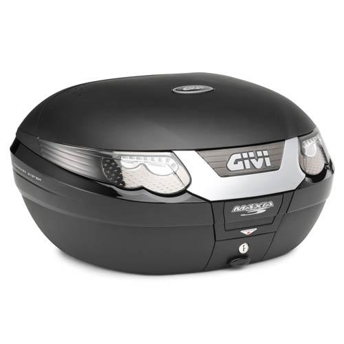 Bauletto Givi E55 Maxia 3 Tech Monokey nero con catadiottri fumè