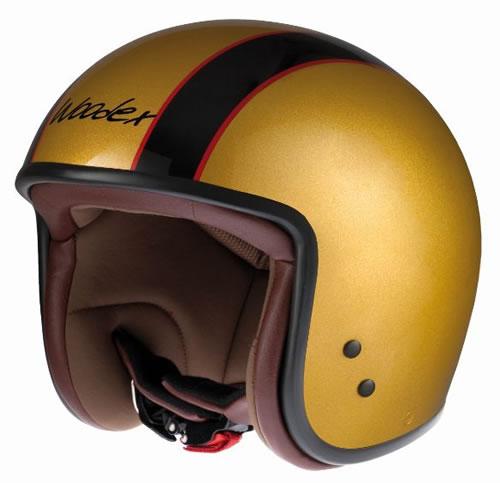Casco D-jet Woodex Easy Rider Gold