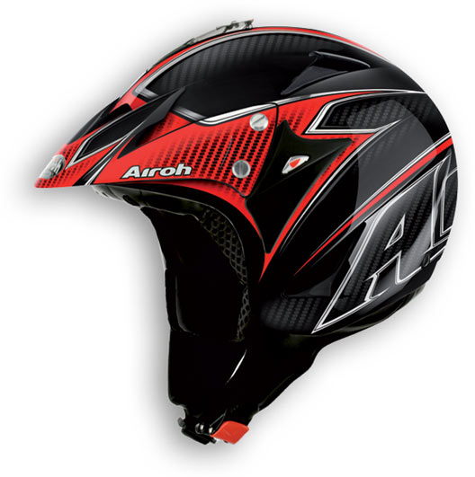 Casco moto off road Airoh Evergreen Carbon