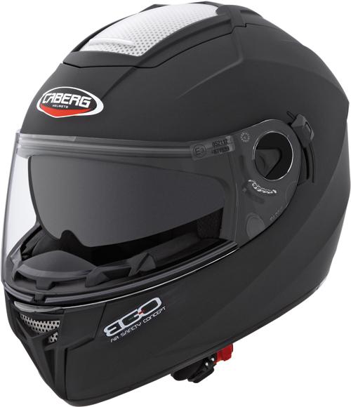 CABERG Ego full-face helmet col. matt black