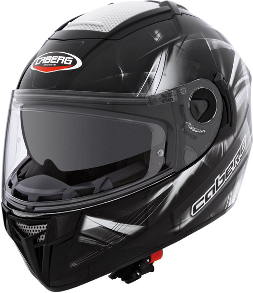 CABERG Ego Ultralight full-face helmet col. black-white