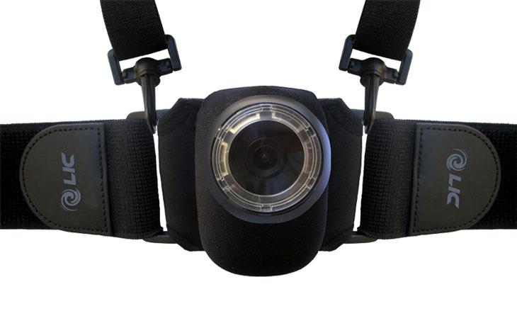 Liquid Image legs and body mount for ego cam
