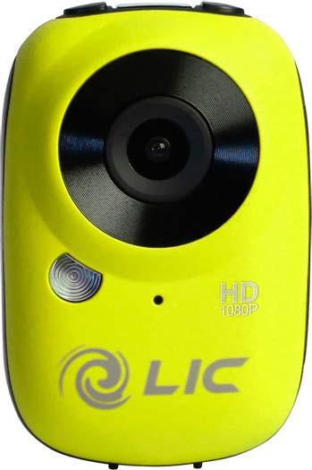 Mini telecamera Full HD Liquid Image Ego gialla
