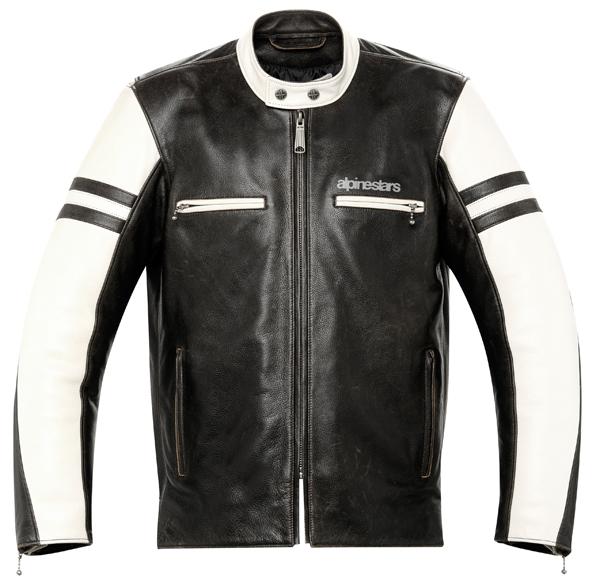 Alpinestars Eliminator leather jacket black-cream