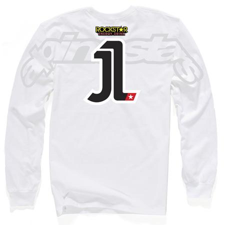 Alpinestars El Uno LS white Limited Edition Jorge Lorenzo
