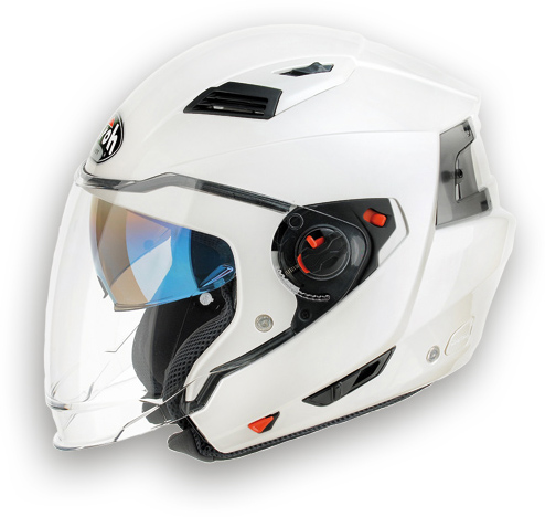 Casco moto crossover Airoh Executive Color pearl gloss