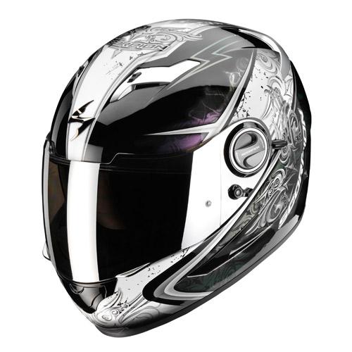 Scorpion Exo 500 Air Run full face helmet Black Chameleon