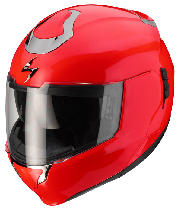 Casco modulare Scorpion Exo 900 Air Neon Red