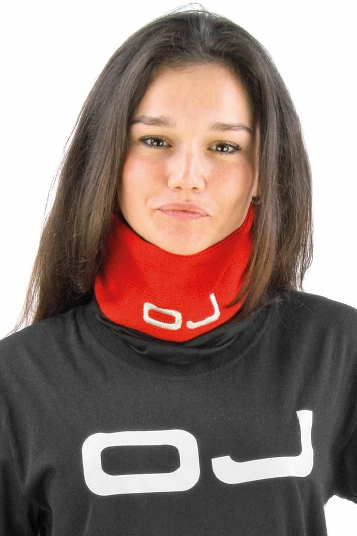 OJ Lupetto neck warmer red