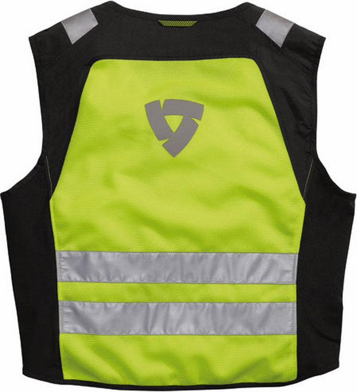 Gilet alta visibilità Rev'it Athos Air giallo neon