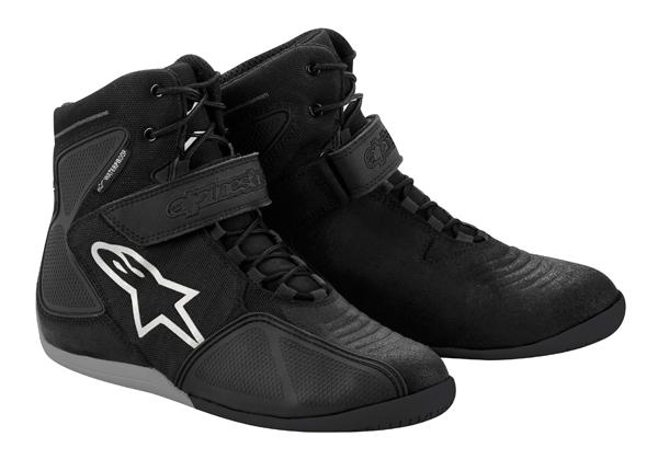 Alpinestars Fastback Waterproof shoes black white gray