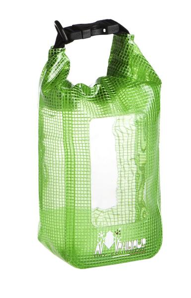 Waterproof pocket Amphibious Mini Window Clear Green