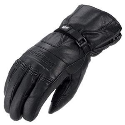 Furygan JACK CUIR leather gloves Black