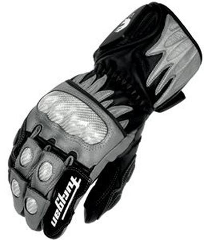Furygan CENTAUR RACING leather gloves Black-Gray