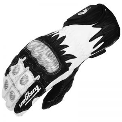 Furygan CENTAUR RACING leather gloves Black-White