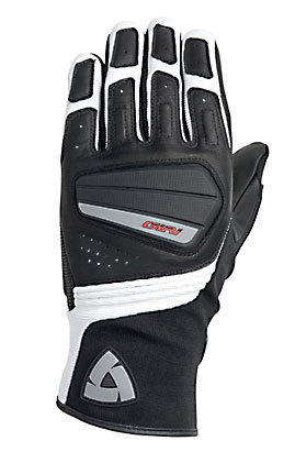 REV'IT! Giri Summer Gloves - Col. Black/White