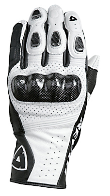 REV'IT! Airvolution Summer Gloves - Col. White/Black