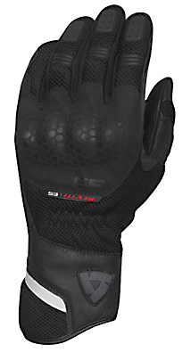 REV'IT! Dirt Summer Gloves - Col. Black