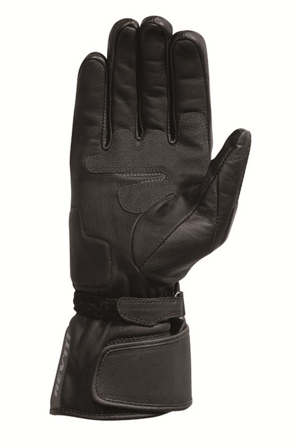Woman leather motorcycle gloves Rev'it Summer Bliss Black