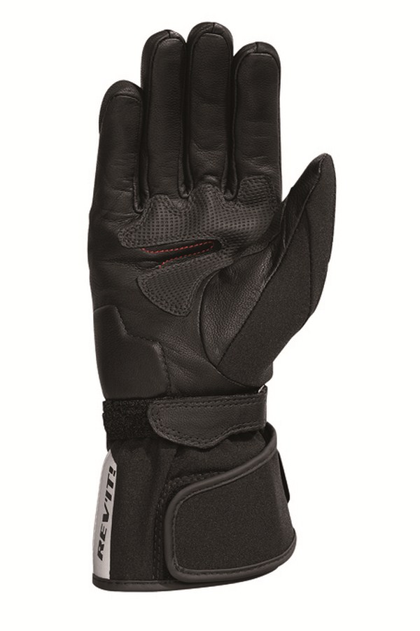 Woman leather motorcycle gloves Rev'it Summer Drifter H2O Bl