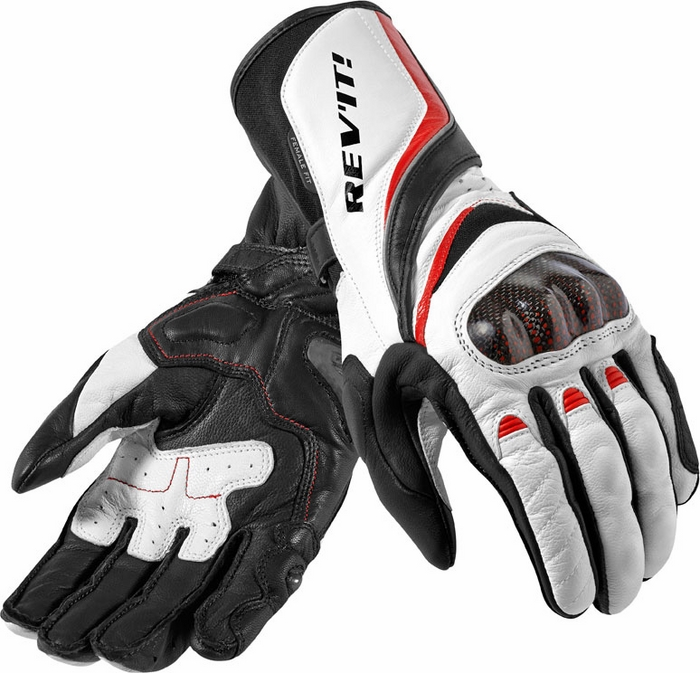 Rev'it Xena Ladies gloves white - red