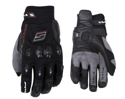 Five STUNT gloves Black