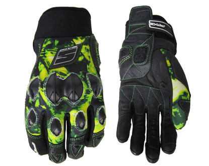 Five STUNT Replica gloves RoppongiGreen
