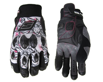 Five STUNT Woman Replica woman gloves Flower