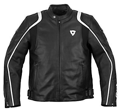 REV'IT! Zodiac Jacket - Col. Black/White