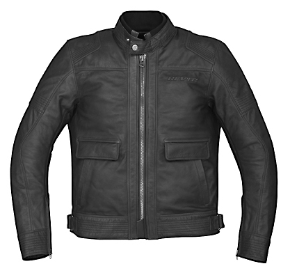 REV'IT! Rogue Leather Jacket - Col. Black